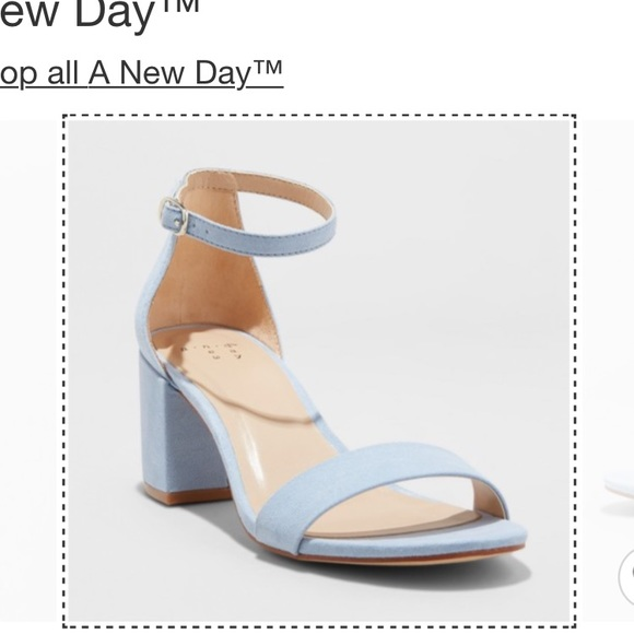 d2d8234ea6 a new day Shoes - Women's Michaela Pump- A New Day (Blue) size